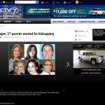 Charles Vosseler on KETV's Most Wanted Parental Kidnappers