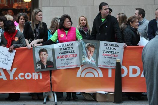 Volunteers go to the Today Show on anniversary